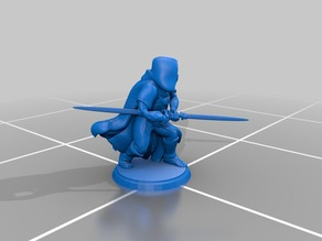 Sith Acolyte - Double-Bladed Light Saber - Generic Models
