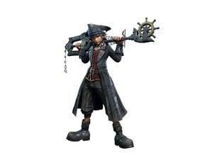 Kingdom Hearts 3 Keyblade Pirate