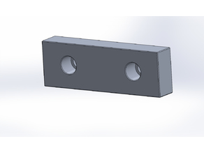 Soft jaw for machine vise