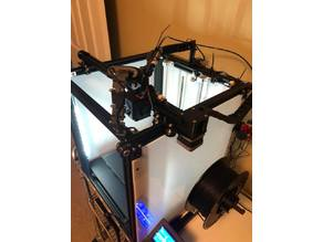 Ender 5 X Stepper cover and cable chain attachment