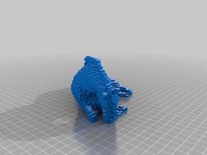 voxel horse