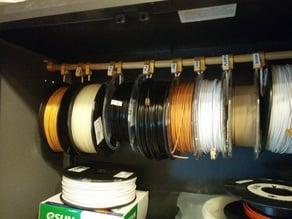 Rangement bobines filament