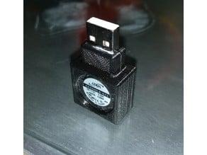Useless 20mm USB Fan Enclosure