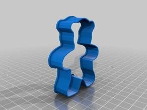 3DNrj.com Teddy Bear Medium Cookie Cutter