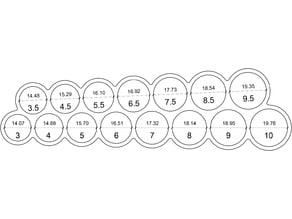 Ring Size Measuring Tool