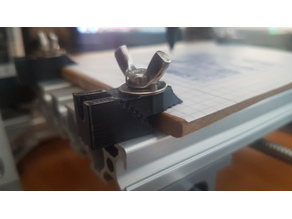 Mini step clamp for CNC 1610 mill with M5 bolt