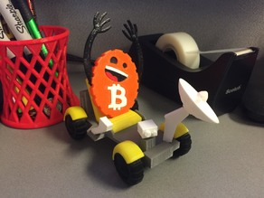 Bitcoin Moon Buggy Desk Toy