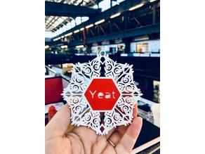 Ultimaker/Morphi Snowflake Ornaments