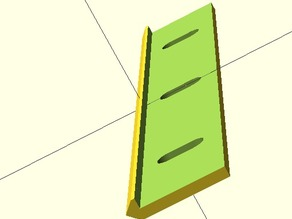 Openscad modules for Open Rail components