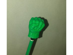 Hulk Hands Pencil Topper