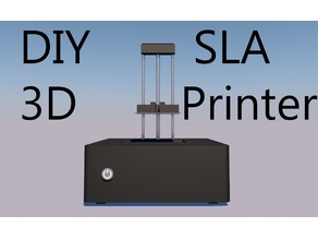 $100 LCD / SLA 3D Printer