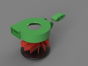 40mm Axial to Radial fan Conversion