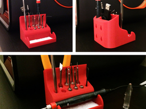 Stand / Tool Holder for MODIFI3D : 3D Print Finishing Tool
