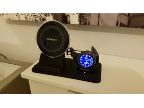 Samsung galaxy and Gear s3 charger stand