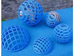 Simple Spherical Cat Toys