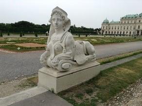 Sphinx Statue 3D Scan