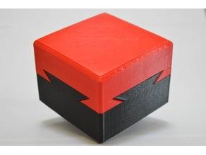 Locking Dovetail Puzzle Box