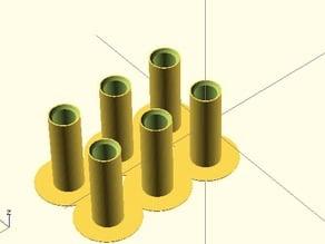 Magnetic ball joint for Rostock mini