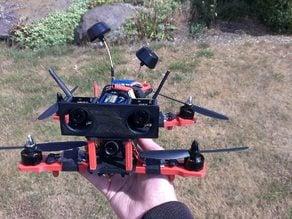 3D FPV camera tilted mount (10 deg)