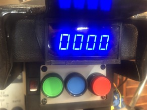 Milling machine tachometer mount