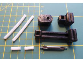 PTFE Tube Chamfer and Cut Jig