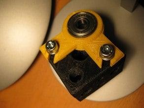 Bearing bracket for Z-posts