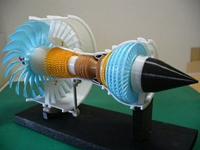 Jet Engine, 3-Spool