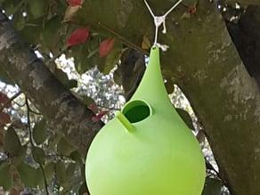 Drop birdhouse