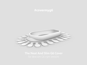 #covermyg6 - a slim cover for the dexcom G6 cgm sensor