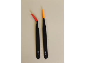 esd tweezers protection cap