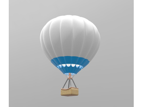 Hot Air Balloon H0 scale remix