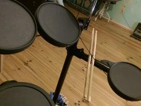 Drumstick Holder for YAMAHA DTX450K and similar