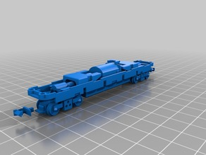 Tomytec TM-07R N scale chassis