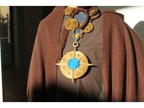 Magical Amulet for a Wizard or Mage