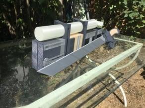 Box et bombonne 3D manoeuvre compatibles avec kit existant sur thingiverse