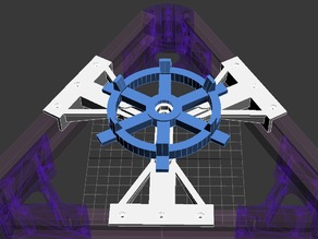 Suporte de filamento Kossel Mini