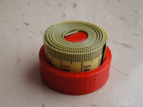 Holder for a measuring tape