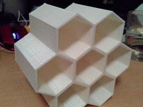 Honeycomb organizer