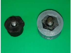 Power steel high pressure oil hose mount kit rubber