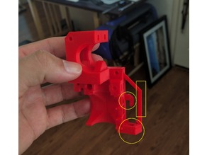Prusa MK2 Modified Extruder Body Beefy Probe Mount v1