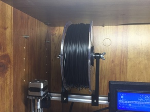 Quick Change Spool Supports for 2020 Prusa i3