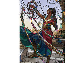 Saheeli, Sublime Artificer - stained glass - litho