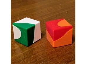 Asymmetrical Cube Puzzle
