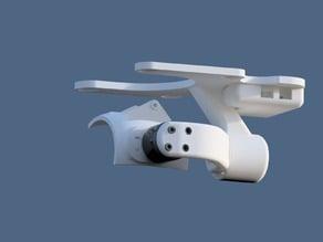 MotorPixie 2D gimbal for DJI Phantom 2 Vision (GoodLuckBuy version) - Discontinued