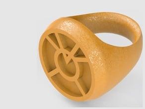 Orange Lantern Ring (Larfleeze)