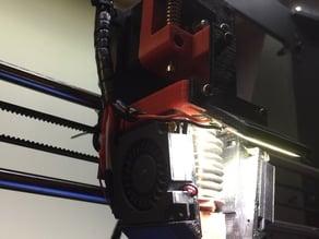 DirektDrive Extruder, ready for flexible filament