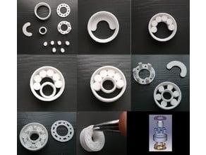 608 bearing (parametric, roller)