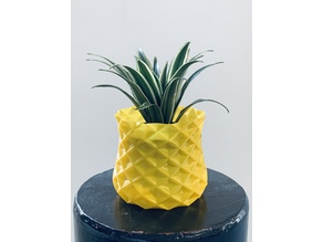 Pineapple Style Plant Pot Cover