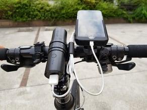 Snap-fit Bike Stem Mount for Anker PowerCore 5000 / PowerCore+ mini