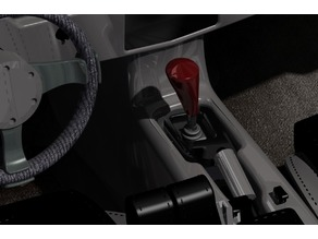 Ergonomic shift knob for 16mm shaft